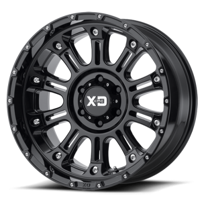 Wheels - XD Wheels - XD Series - XD829 HOSS 2 GLOSS BLACK