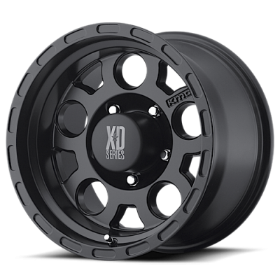 Wheels - XD Wheels - XD Series - XD122 ENDURO MATTE BLACK