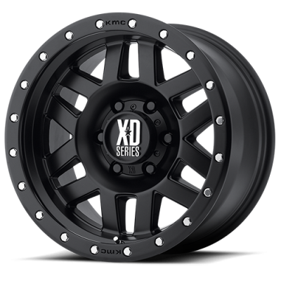 Wheels - XD Wheels - XD Series - XD128 MACHETE SATIN BLACK
