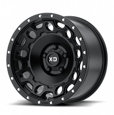 Wheels - XD Wheels - XD Series - XD129 SATIN BLACK