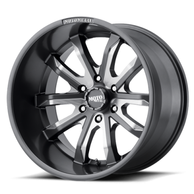 Wheels - Moto Metal - MOTO-METAL - Moto Metal MO983 SATIN GRAY MILLED