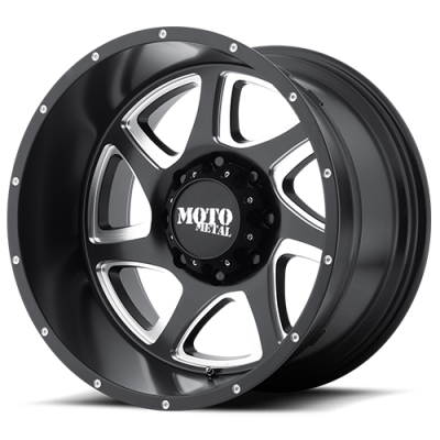 MOTO-METAL - Moto Metal MO976 18 X 9 SATIN BLACK MILLED
