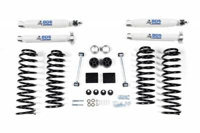"Lift Kit Bundles - BDS - BDS - BDS NX2 2"" Coil Spring Suspension System - Jeep Wrangler JK w/Shocks & Stabilizer"