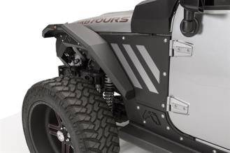 Fab Fours - JEEP JK Front Fender Flare - Image 5