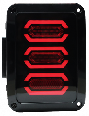 Head & Tail Lights - IPEX LED - IPEX - IPEX JK LED BAR Tail Light