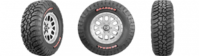 "Wheel & Tire Shop - 37"" - GENERAL TIRE - General Grabber X3 37x12.50R17"