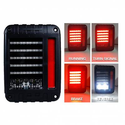 Head & Tail Lights - IPEX LED - IPEX - IPEX JK LED Tail Light Tough