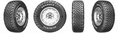 GENERAL TIRE - General Grabber A/T X 35X12.50R17 - Image 2